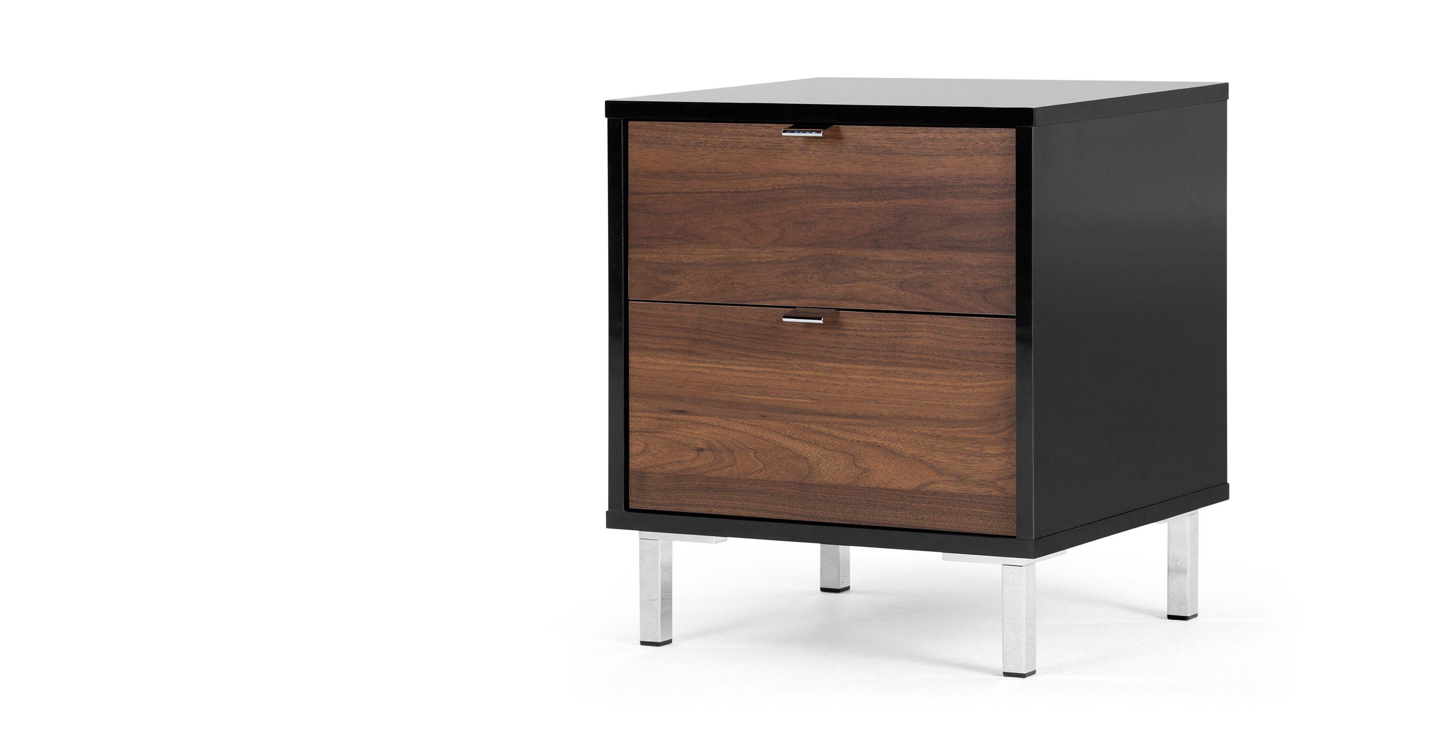 Best Master Bedroom £129 Latymer Bedside Table Walnut Effect 640 x 480
