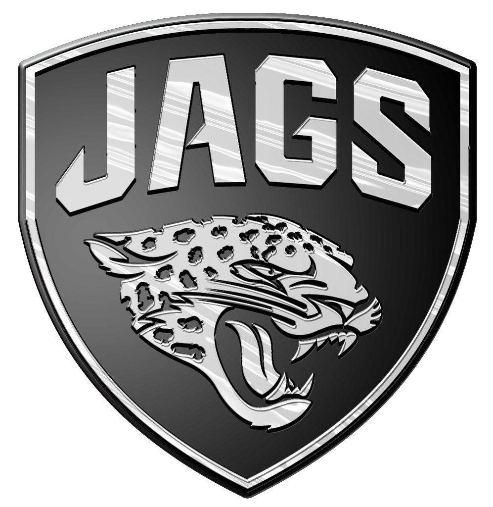 dc8cbeac Jacksonville Jaguars Auto Emblem - Silver | Jacksonville Jaguars ...