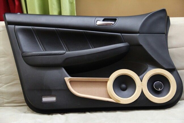 Version 2 0 Door Panel Honda Accord Custom Car Audio Honda