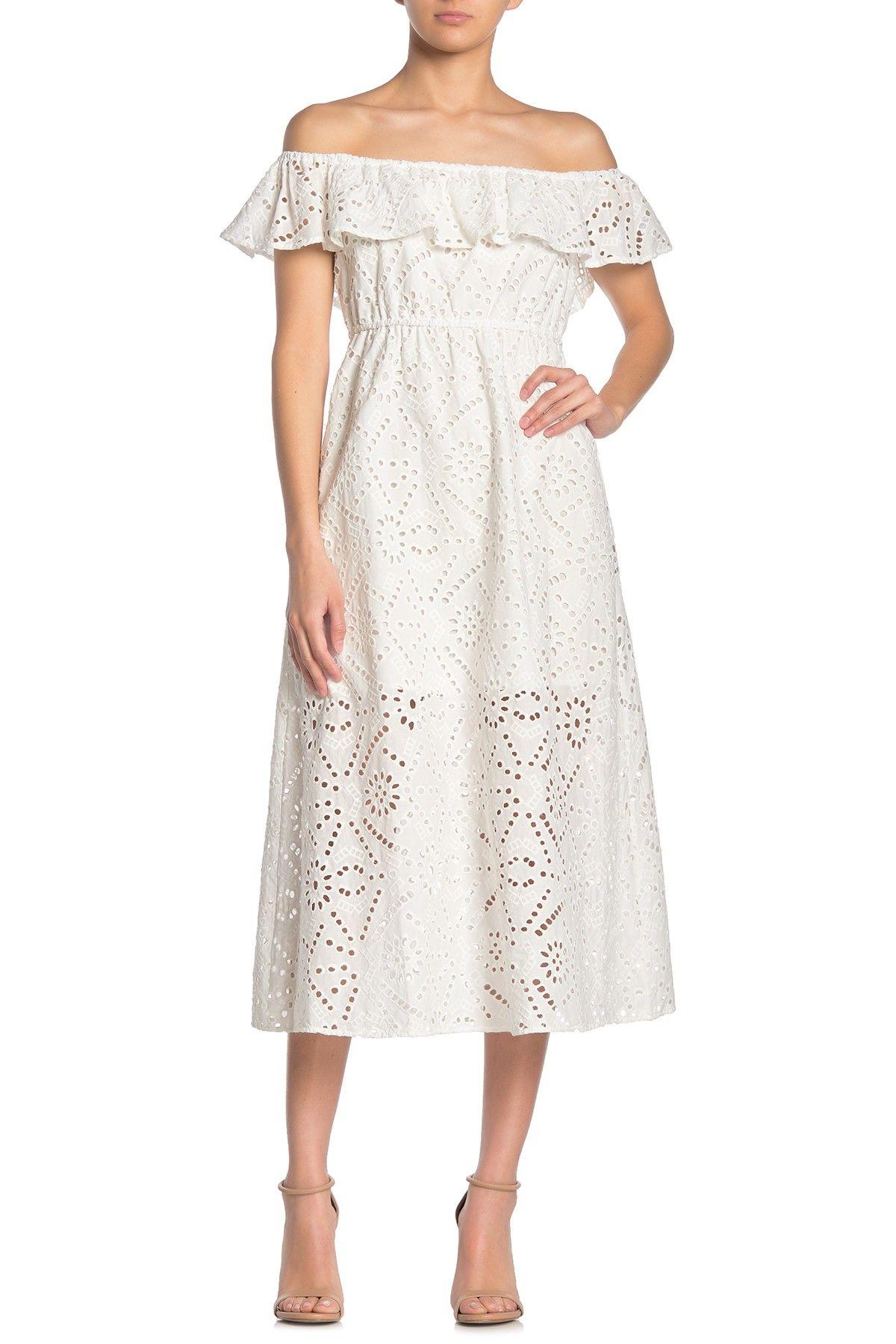 Abound Off The Shoulder Eyelet Midi Dress Nordstrom Rack Midi Dress Knit Midi Dress Nordstrom Dresses [ 1800 x 1200 Pixel ]