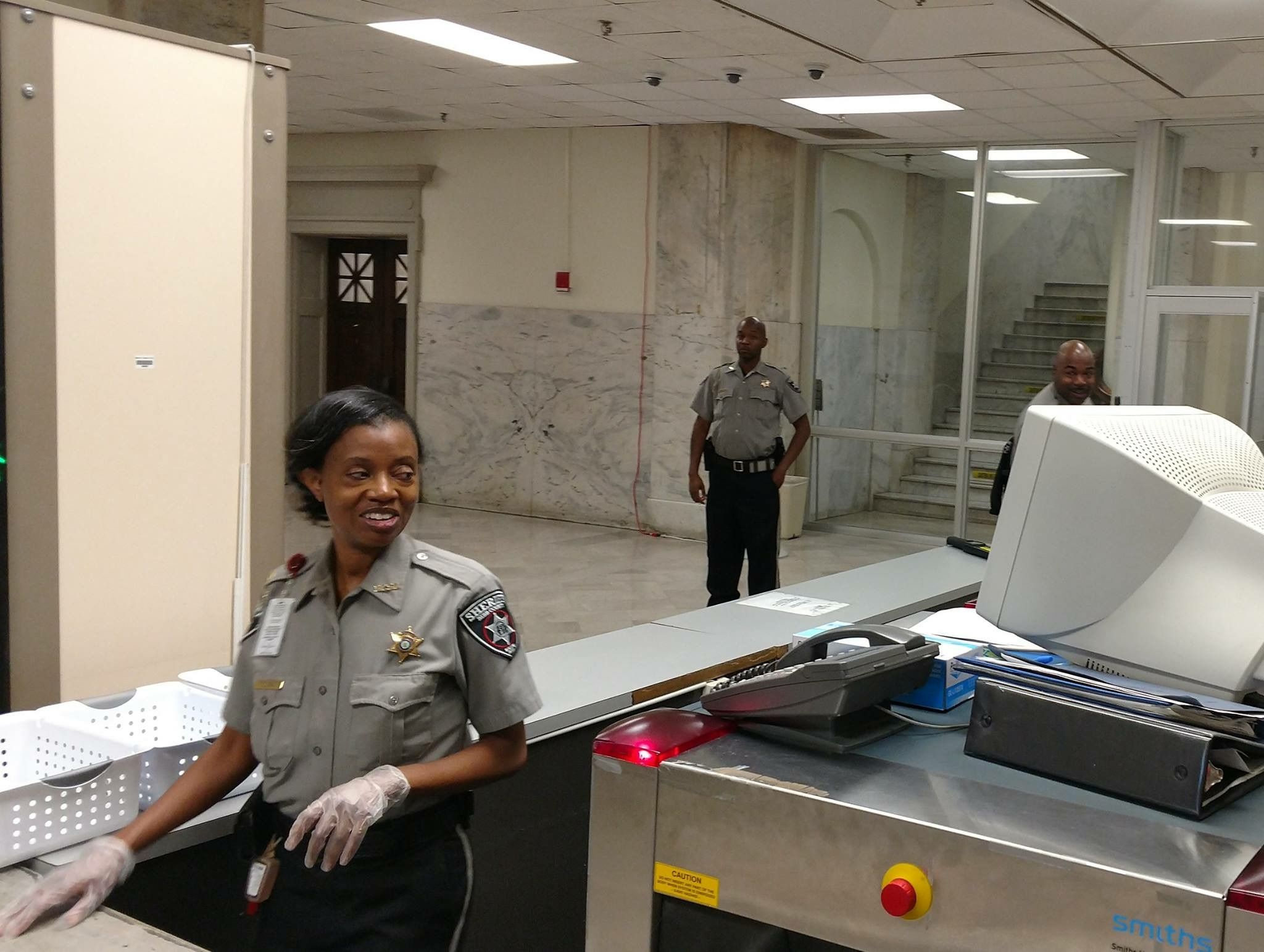 Bibb county sheriffs office court services deputies are