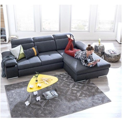 Arhus By Xooon Canape Relax 2 5 Places Meridienne Box Droit Xooonledesignenfinaccessible In 2020 Home Sectional Couch Home Decor