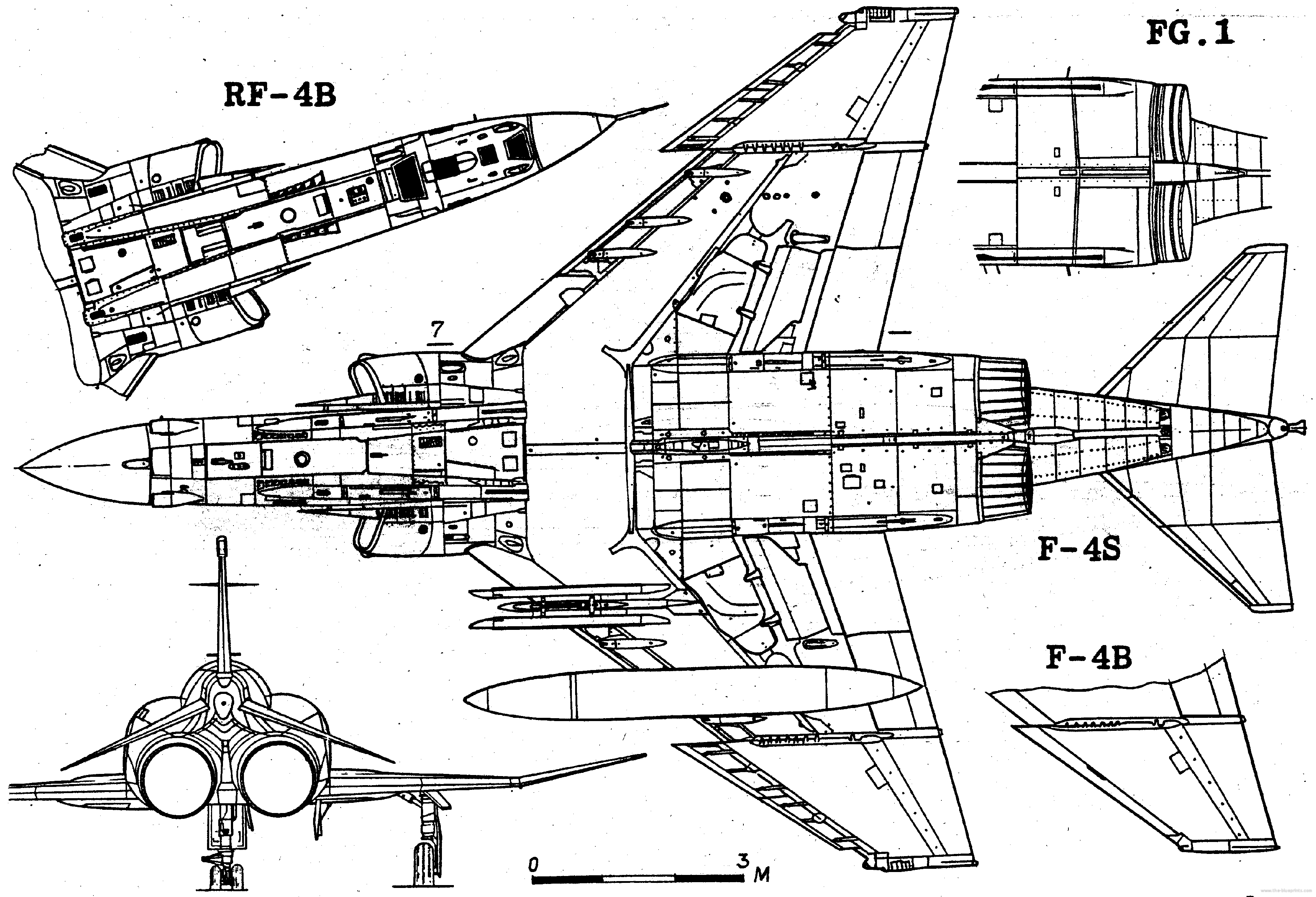 Mcdonnell F 4b E S Phantom