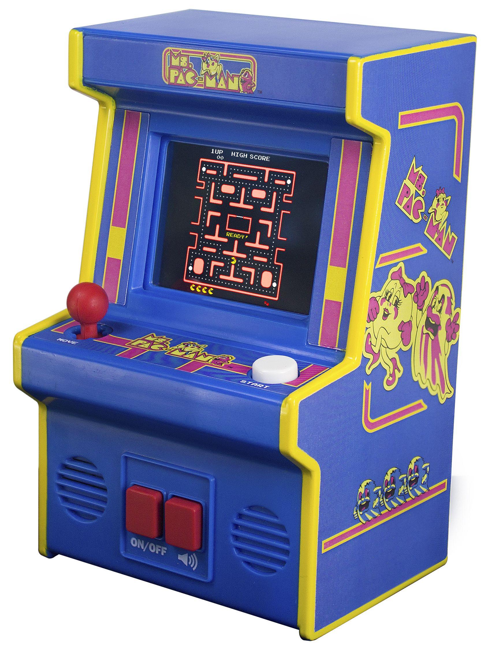 Image result for arcade classics ms pacman Mini arcade