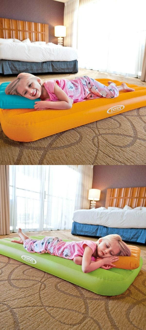 Love this kids inflatable air mattress! This is perfect ...