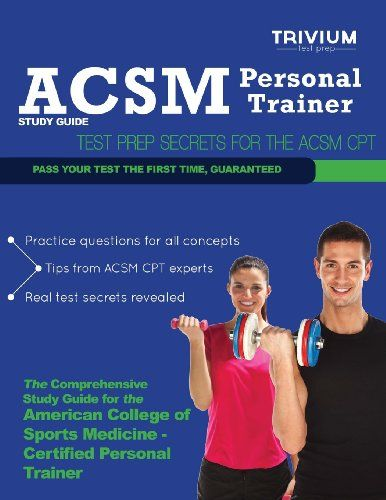 acsm personal trainer study guide: test prep secrets for the acsm ...