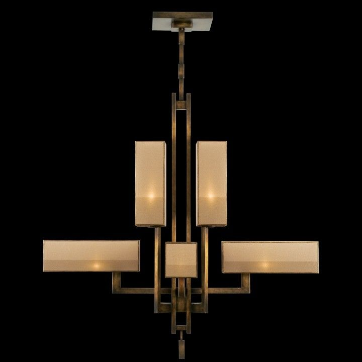 734240st Fine Art Lamps Bronze Chandelier Art Lamp