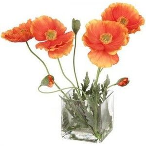 Poppies floral arrangement topiaries and silk plants hom poppies floral arrangement topiaries and silk plants hom like something lower i think like this instead of having to look over it mightylinksfo
