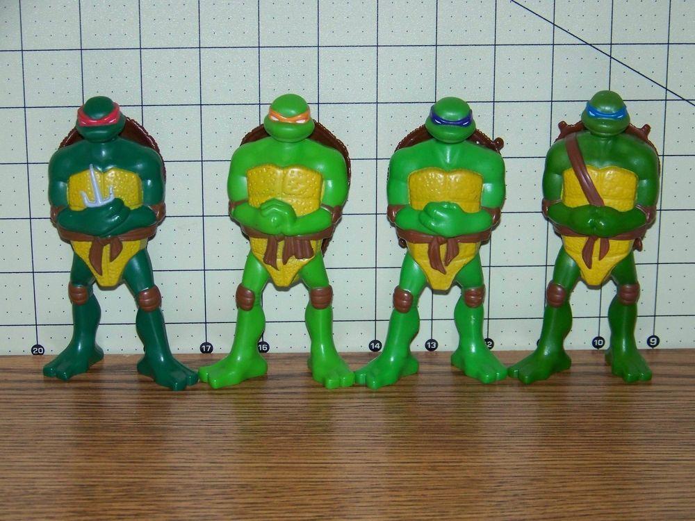 2007 Teenage Mutant Ninja Turtles Mcdonald S Happy Meal Toy Lot