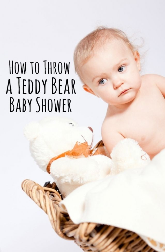 how to throw a teddy bear baby shower themed baby showers and teddy