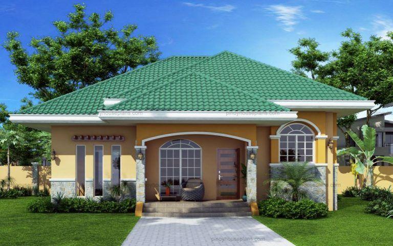 Plano de casa moderna con techo de cuatro aguas house for Casa moderna design