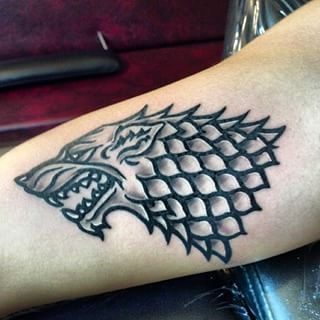 Tienes El Sello De Aprobación De Stark Tattos Game Of Thrones