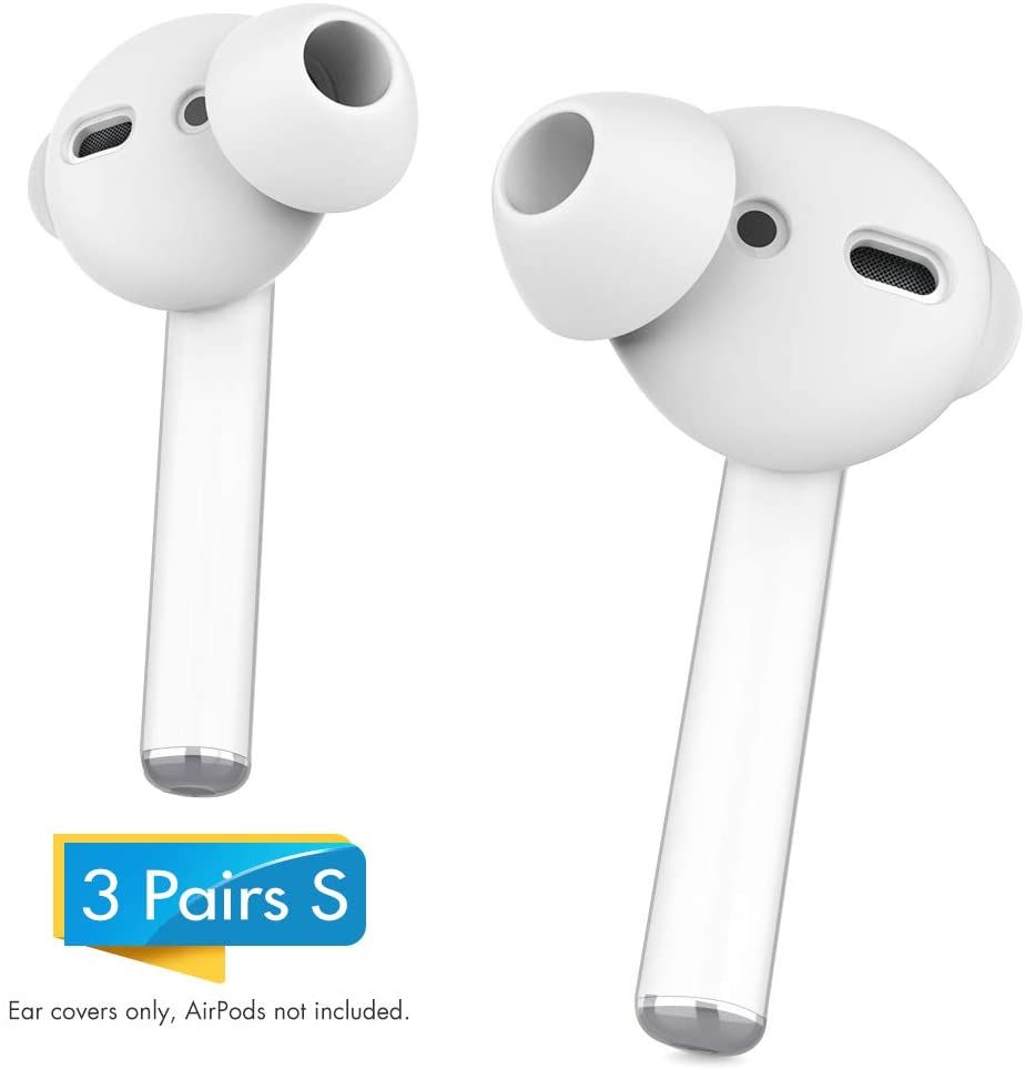 Ahastyle 3 Pairs Airpods Ear Tips Silicone Earbuds Cover Not Fit In The Charging Case Compatible With Apple Airpods Airpods 2 Earpods 3 P Earbuds Apple Case