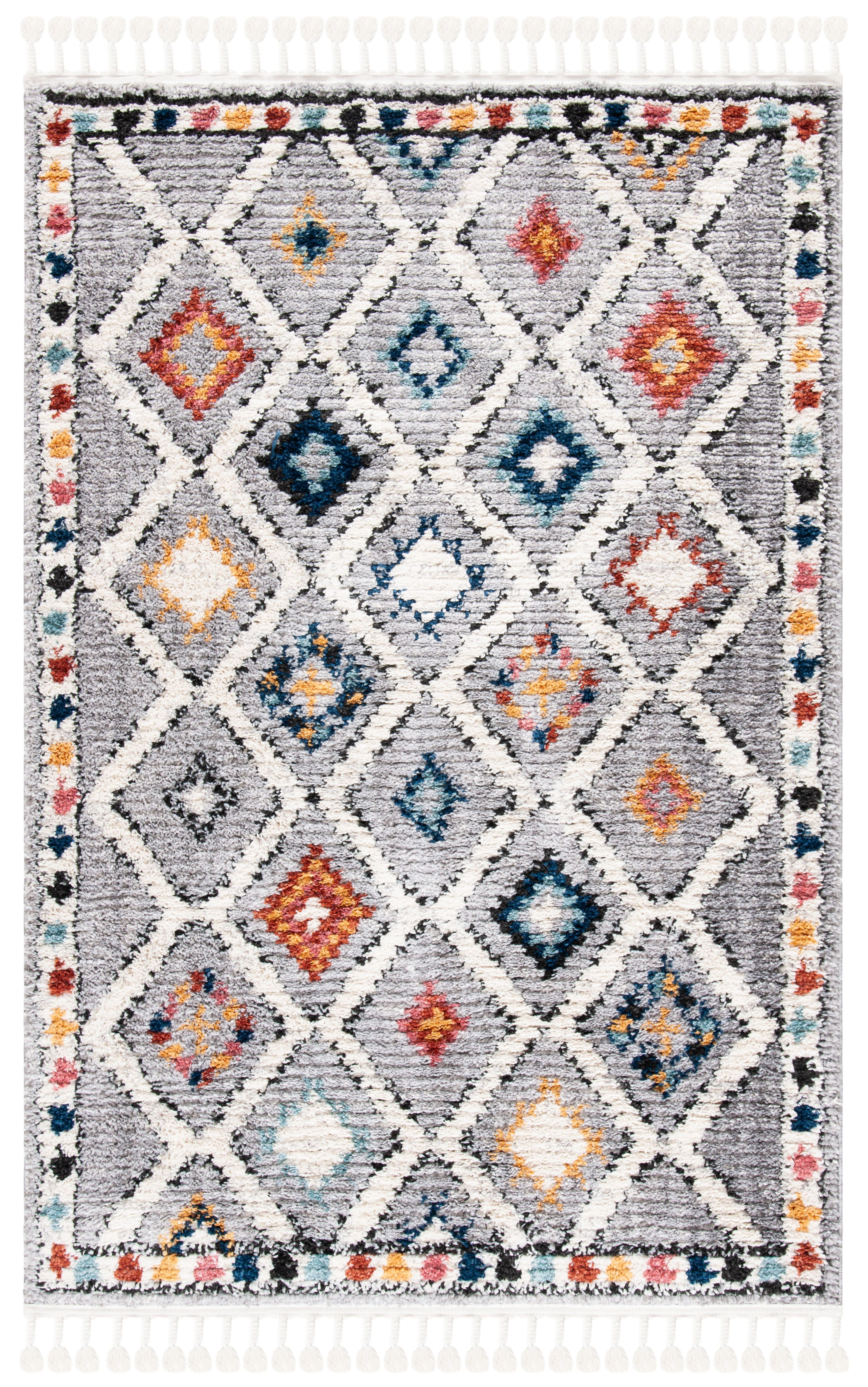 morocco rug grey multi 4 x 6 in 2020 boho chic decor rugs area rugs on boho chic kitchen rugs id=92727
