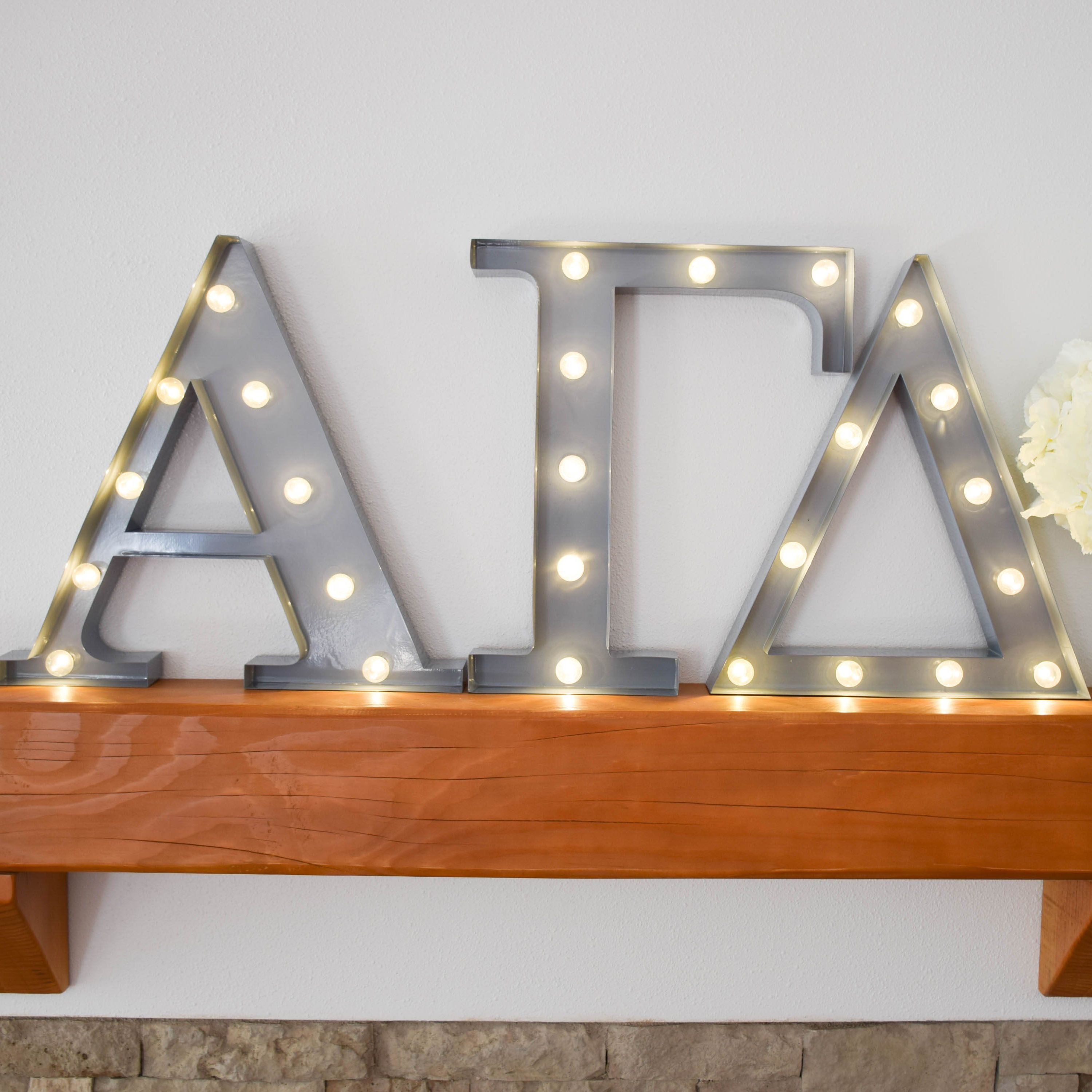 marquee sign led lighting red letter up lights itm vintage light alphabet style circus