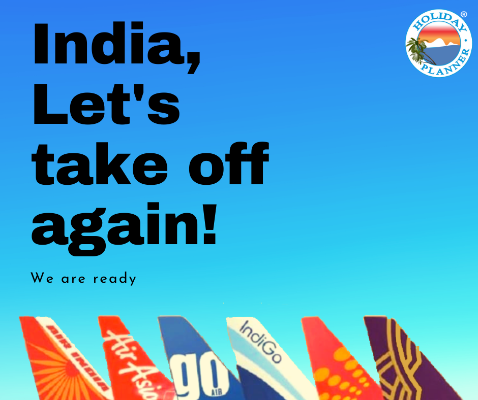 India Let's take off again Domestic flight operations to
