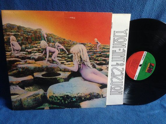 Image result for led zeppelin Houses Of The Holy original sale