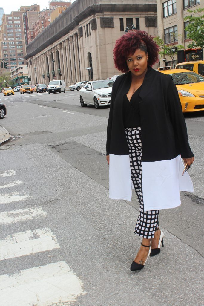 Stylish Curves Of The Day: Kala Riggins From New York   Stylish Curves