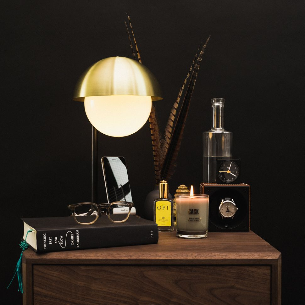The Perfect Nightstand For Men Mens Bedroom Perfect Nightstand