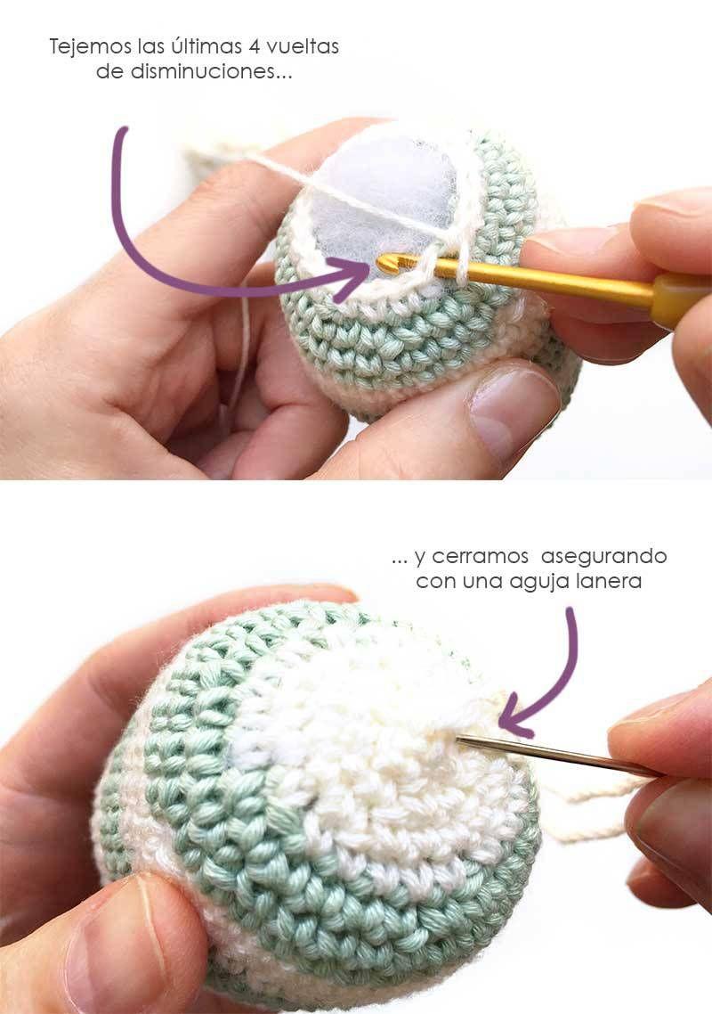 Conejito-huevo amigurumi - Patron y tutorial | Amiguru | Pinterest ...