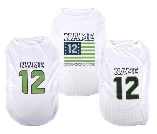 new arrivals 85725 d944a $14.99 - Personalized Seattle Seahawks 12Th Man Dog Shirt ...