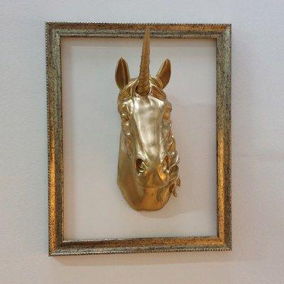Trofeo Pared Unicornio