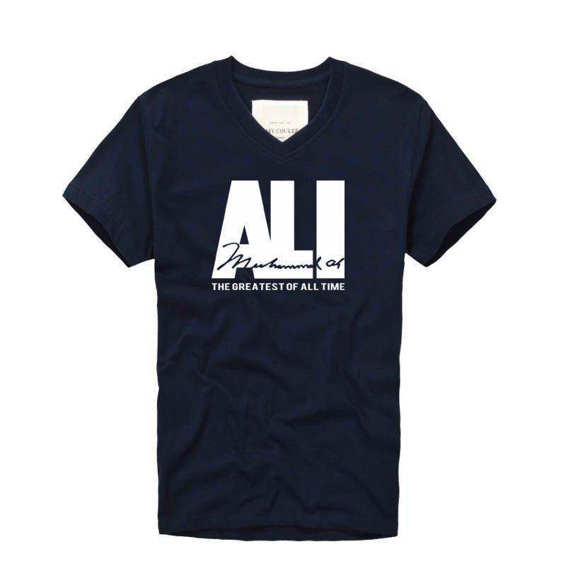 ALI - BLACK EMPOWERMENT TEE - V-NECK - THE GREATEST