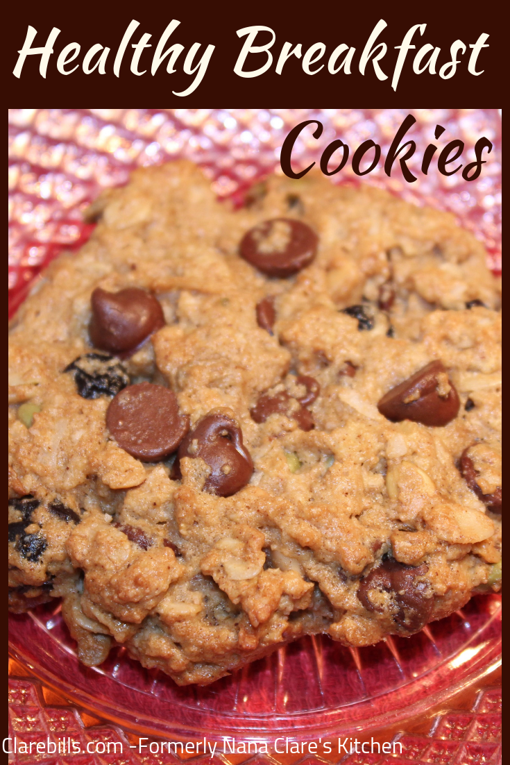 Healthy Breakfast Cookies Recipe With Images