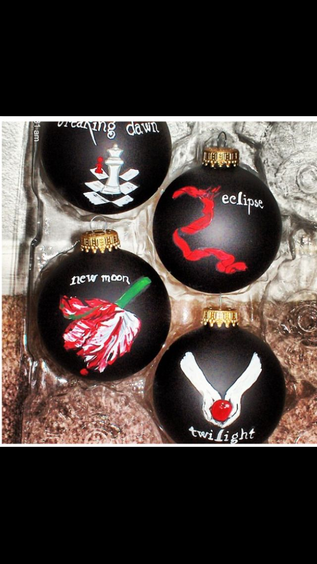 Twilight Christmas ornaments - Twilight Christmas Ornaments ~Everything Twilight~ Twilight