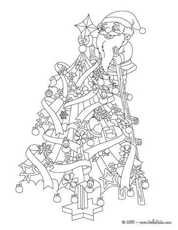 "iColor ""Christmas Trees"" | Christmas tree coloring page ..."