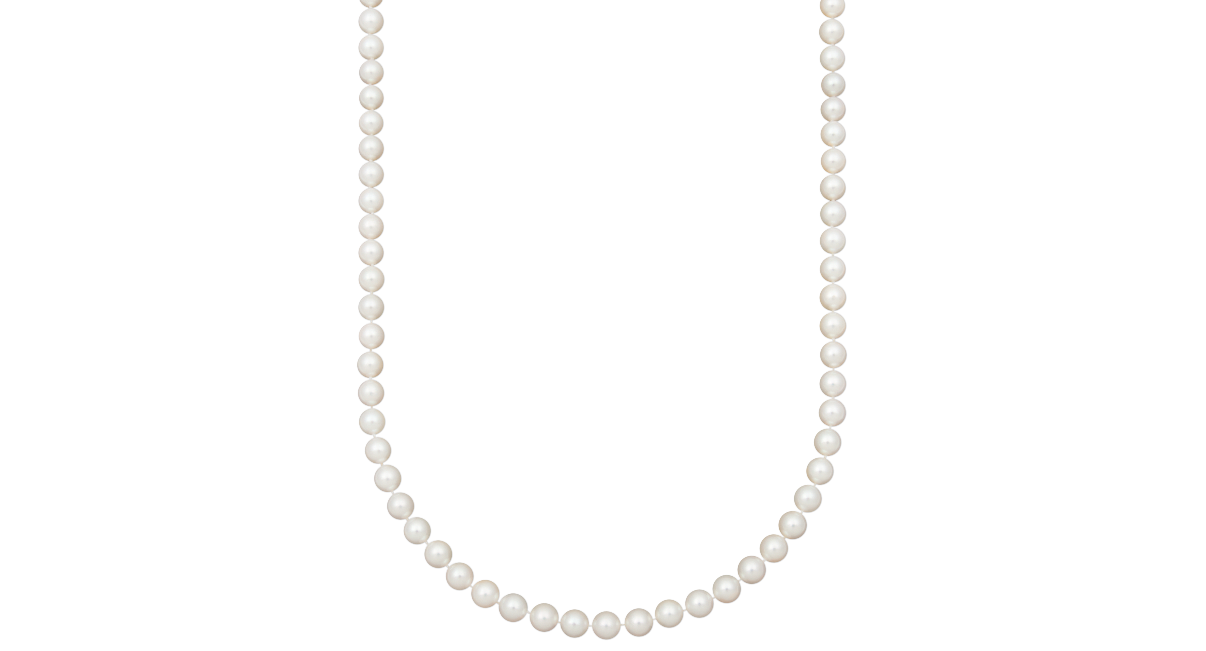 """Belle de Mer Pearl Necklace, 20"""" 14k Gold Aaa Akoya Cultured Pearl Strand (8-8-1/2mm)"""