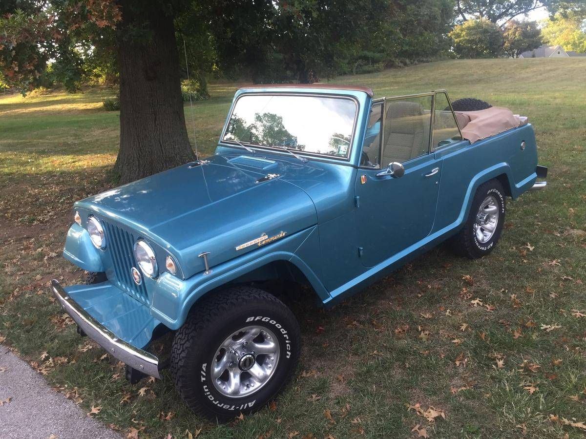 1967 jeep jeepster 8701 commando convertible for sale 1765544 hemmings motor news
