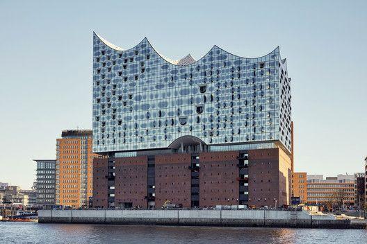 Gallery Of Elbphilharmonie Hamburg Herzog De Meuron 1 Arquitetura Cultural Sala De Concertos Construindo