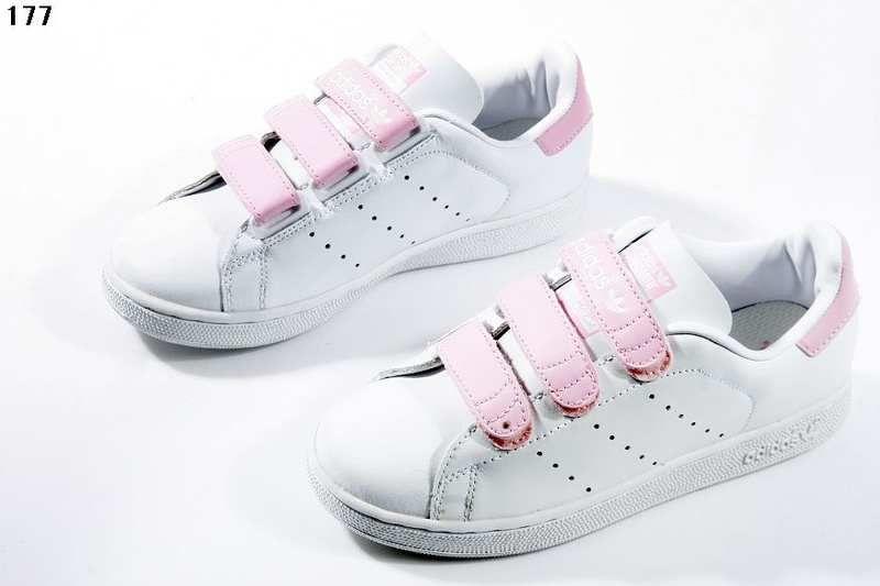 Buy Adidas Stan Smith Velcro Women Shoes White Pink from Reliable Adidas  Stan Smith Velcro Women Shoes White Pink suppliers.Find Quality Adidas Stan  Smith ...
