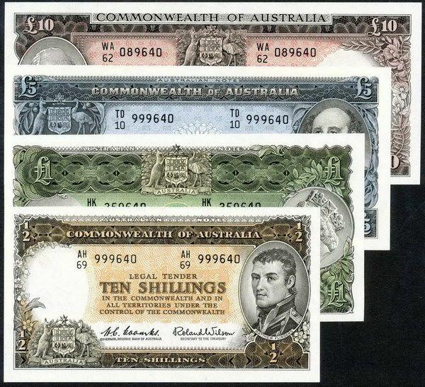 Catatan pra-desimal Australia.  |  Uang Australia, sejarah Australia, sejarah Aborigin