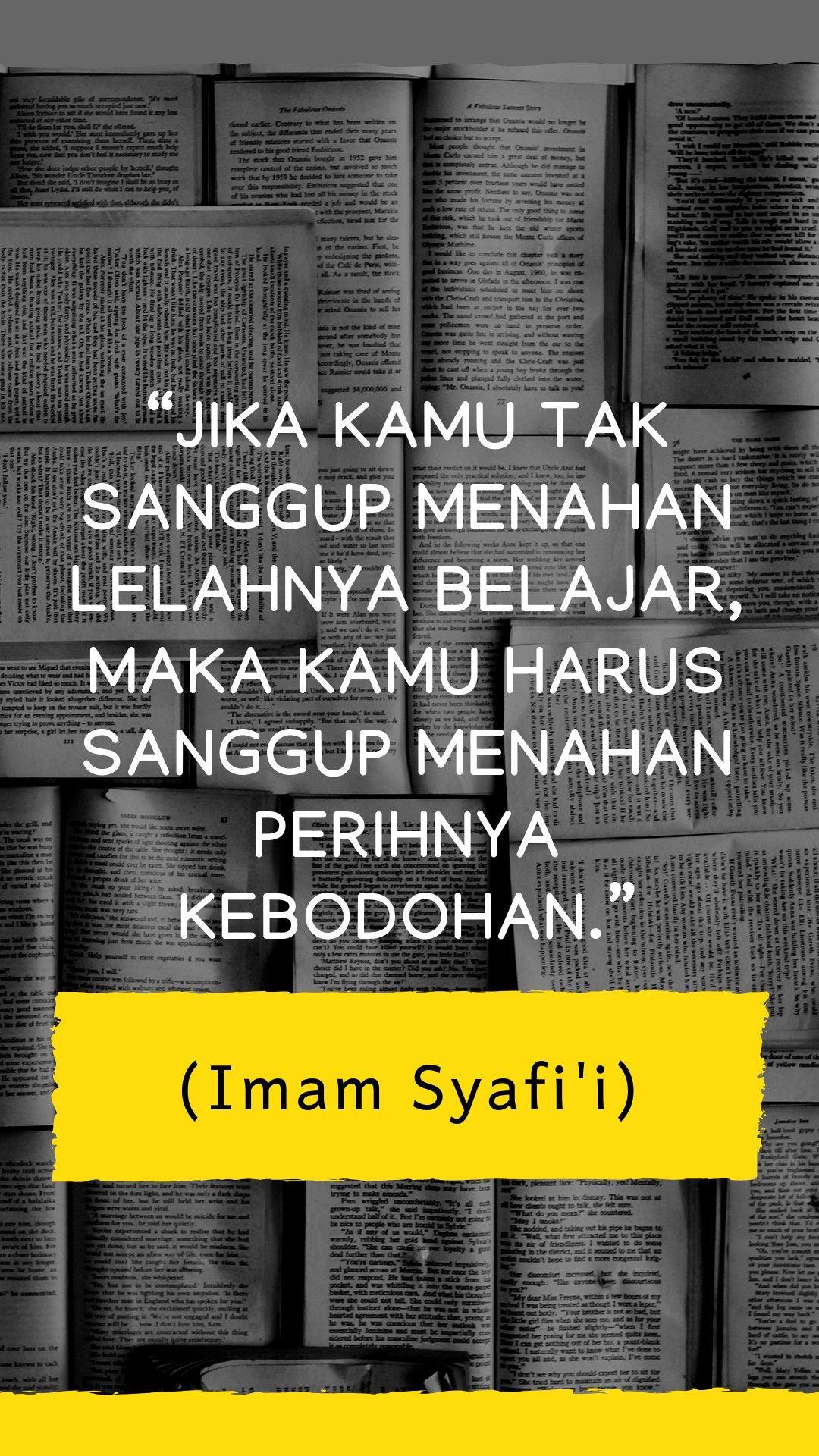100 Imam Syafi I Ideas Kata Kata Hikmah Allah Risalah