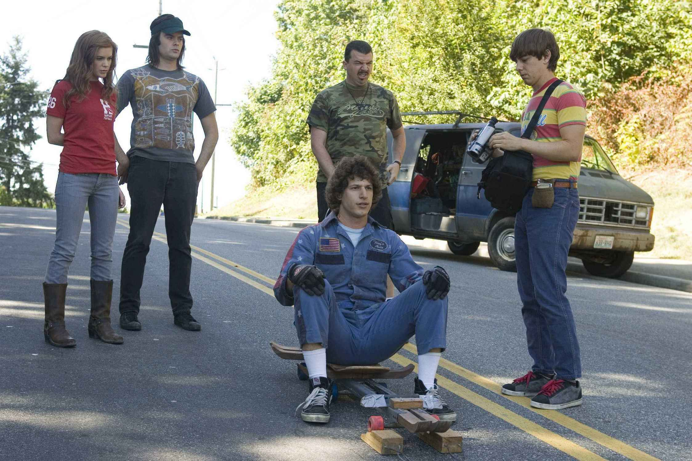 Hot Rod. Favorite Outfit Of Time And