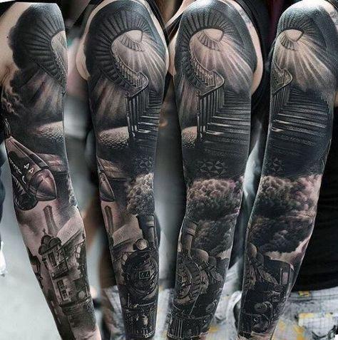 sleeve tattoo designer online #Mandalatattoo