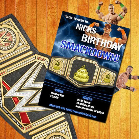 John Cena Birthday Birthday Card Wwe Birthday Card John Birthday Card Printable John Cena Birthday Birthday Cards