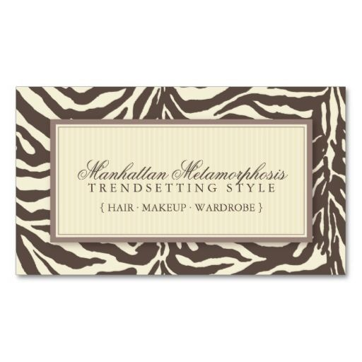 Modern zebra print business cards animal pet care business card modern zebra print business cards animal pet care business card templates pinterest reheart Choice Image