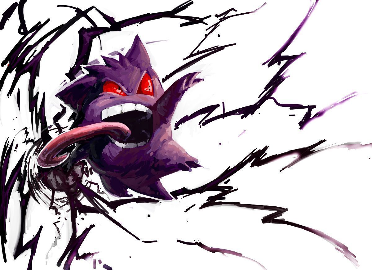 Wallpaper for your desktop s wallpaper gengar wallpaper high - Gengar Used Night Shade Find This Pin And More On Rk S Cool Wallpapers