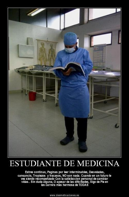 Medicina, estudiantes de medicina, la mejor carrera de todas   Citas ...