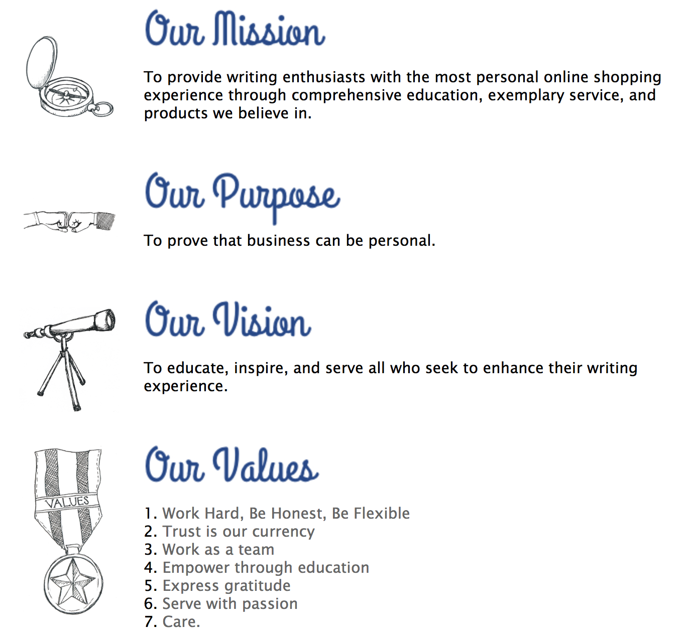 Business Mission Statement Template from i.pinimg.com