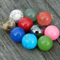 10mm Stone Set 2 Stone Rocks And Gems