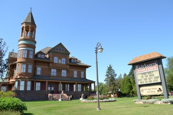 3. Fairlawn Mansion  (Superior). This Victorian-style house was built in 1890 and was restored to its natural beauty.