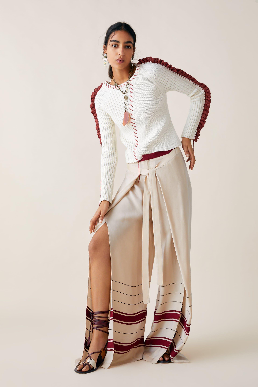 b28af9a9fd Limited edition zara studio pareo pants in 2019 | Looksss | Zara ...