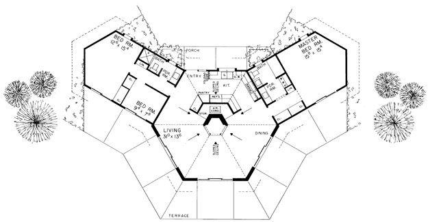 Double Master Bedroom L Shape Floor Plans