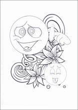 Ausmalbilder Emojis - Emoticons14