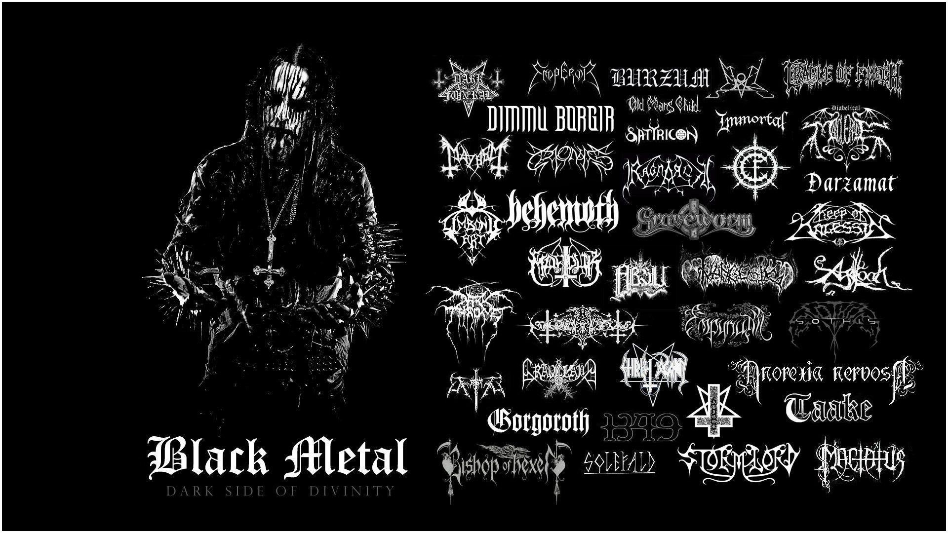 Black Metal Wallpaper Wallpaper Hd