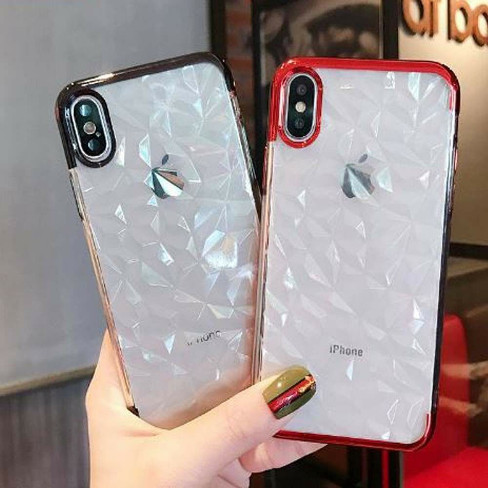 For iphone 8 7 6 plus xs max xr luxury shockproof silicone